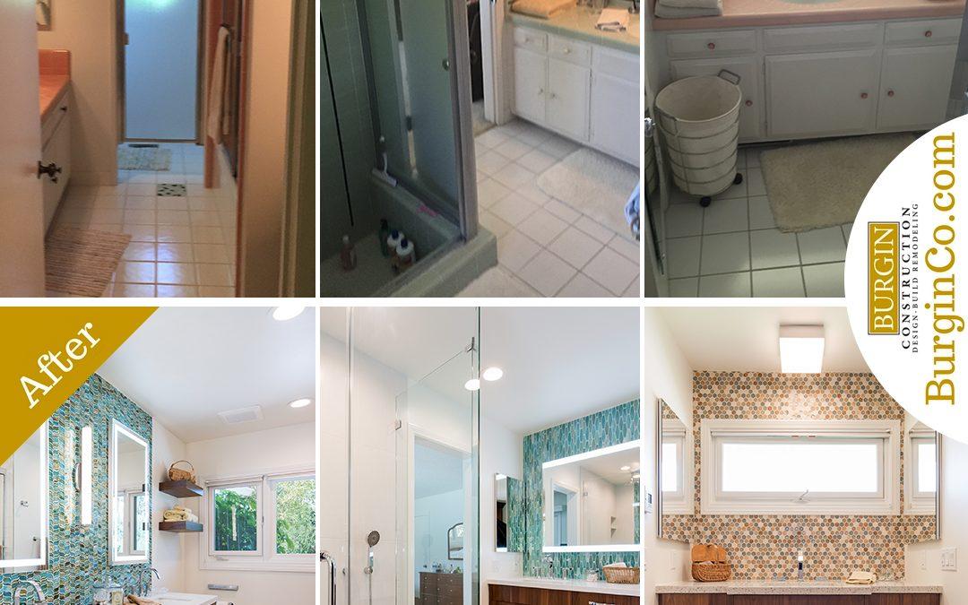 Three North Tustin Bathroom Remodels: Before & After Photos