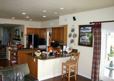 Orange Kitchen Remodel - Harmeyer Before1