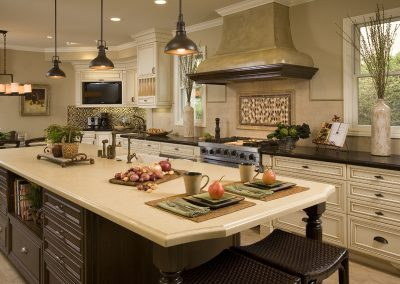 Orange Kitchen Remodel - Harmeyer1