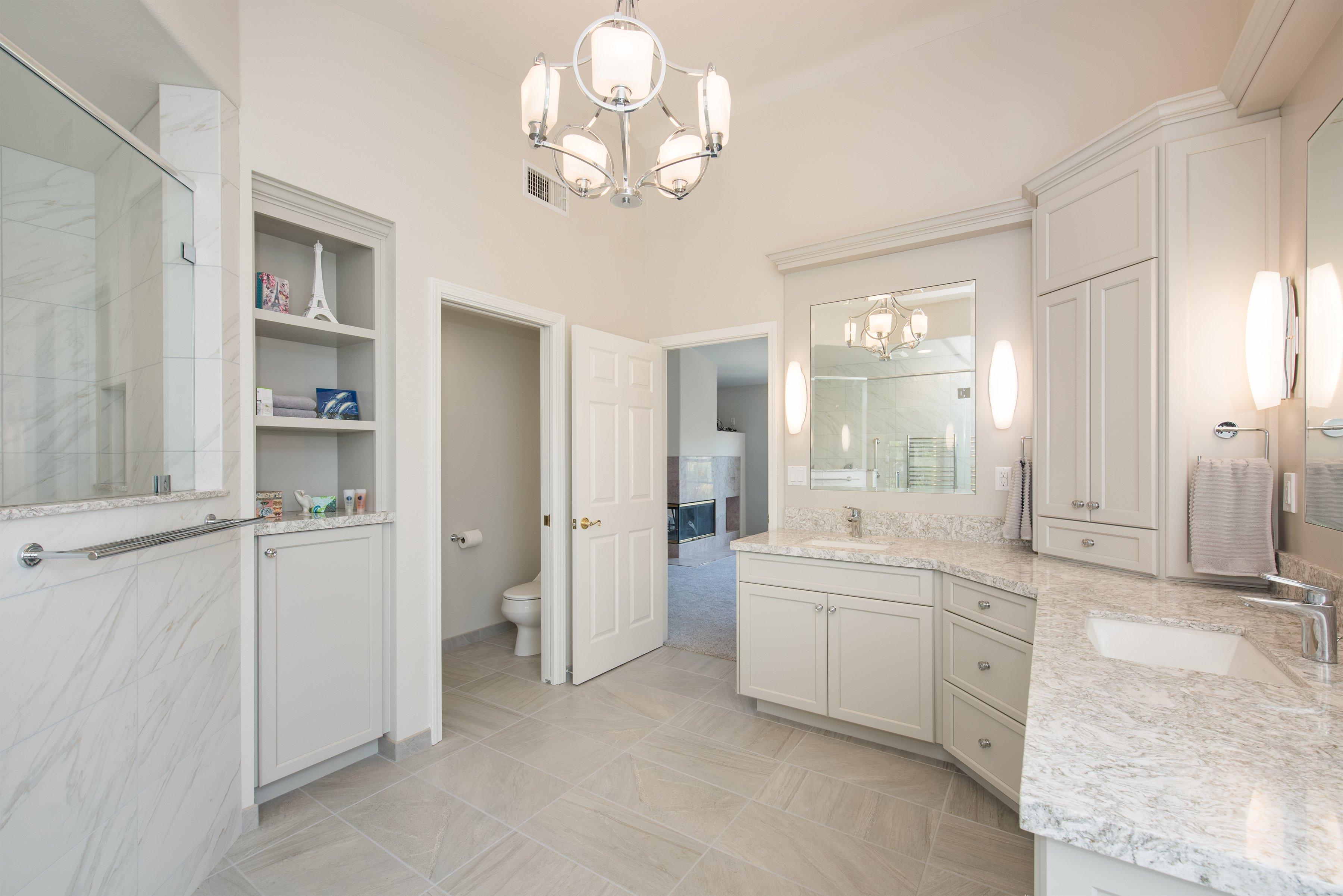 yorba linda bathroom remodel – kohorn - burgin design • remodel