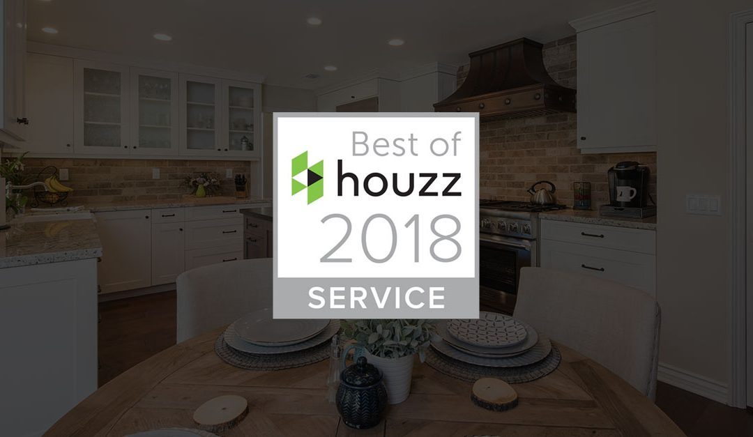Burgin Construction is a 2018 Houzz Customer Service Award Winner