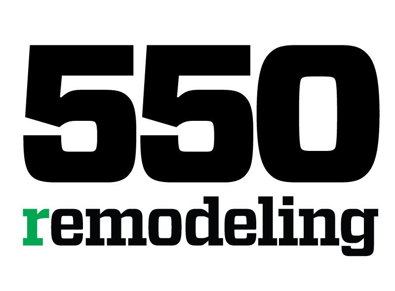 We are at Remodeling Magazine TOP 550 List..Again!