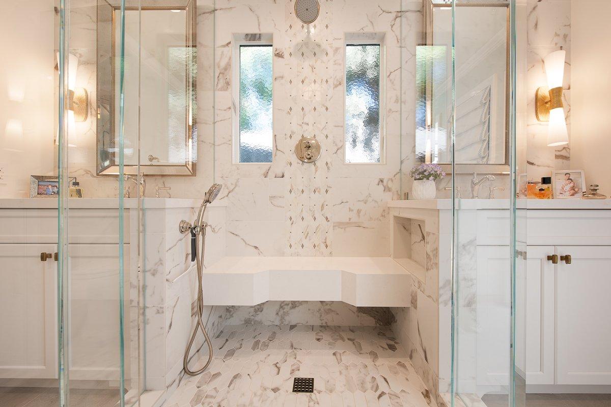 North Tustin Bathroom Remodel - Cops - Burgin Design • Remodel