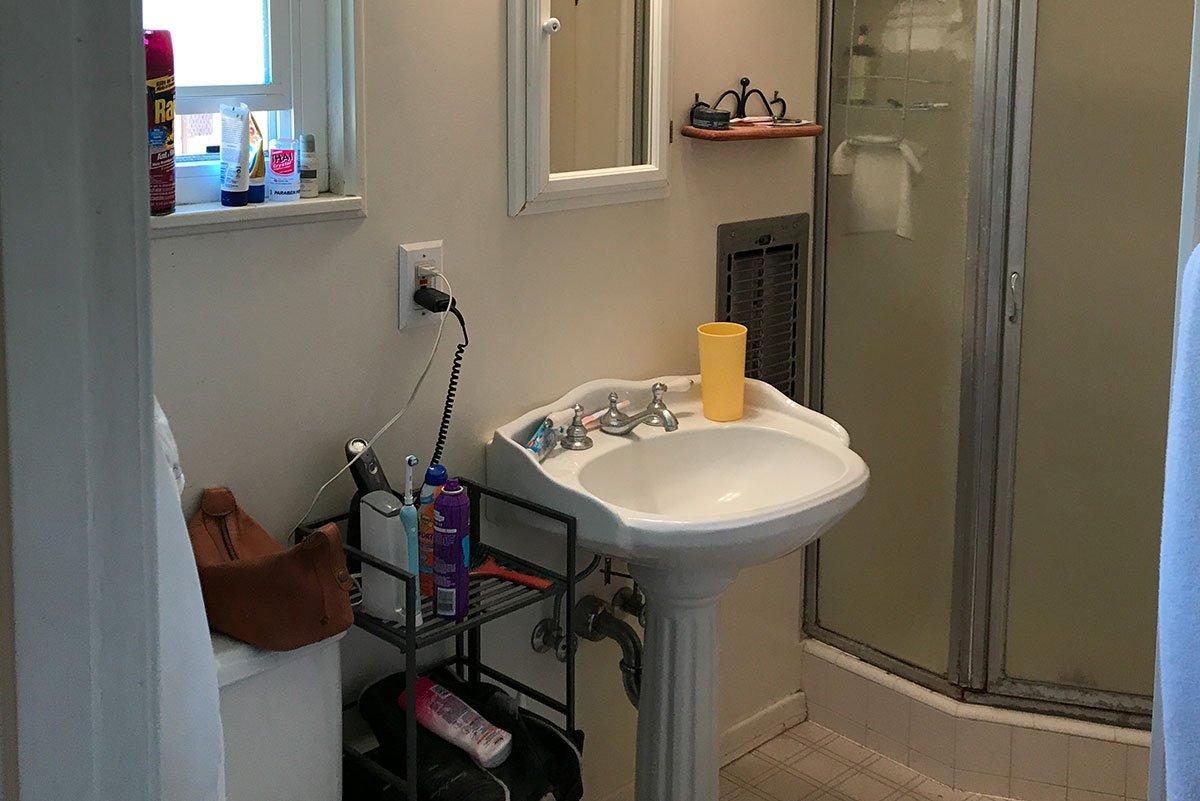 North Tustin Master Bathroom Remodel Before