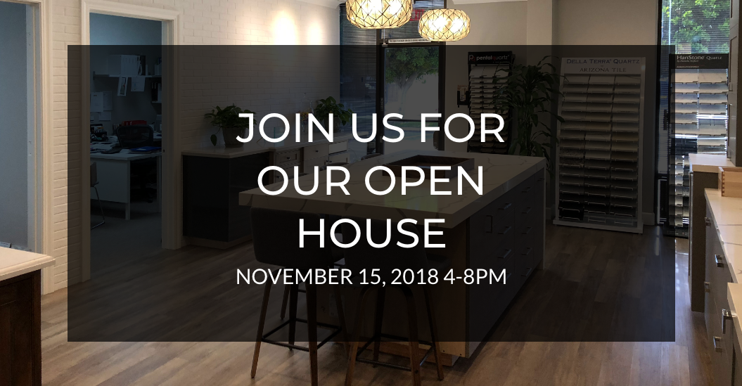 Burgin Design Remodel Open House – YOU'RE INVITED!