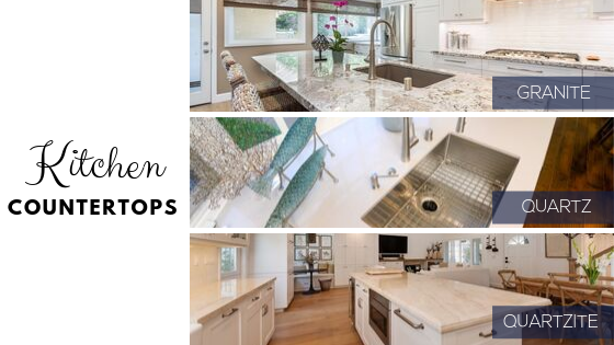 Top 3 Countertop Choices For Your Kitchen Remodel