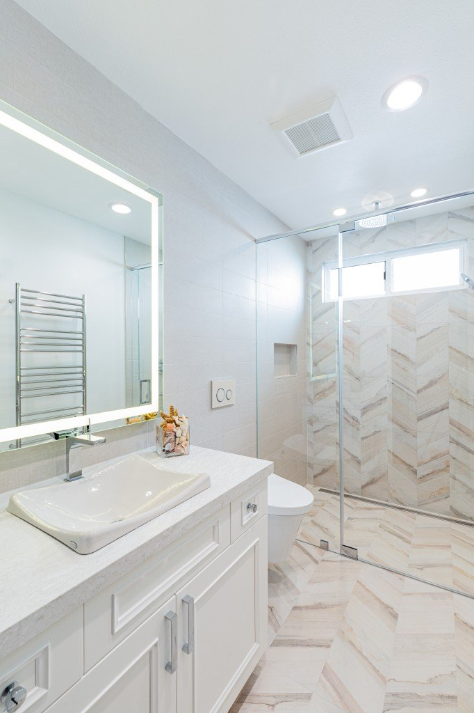 North Tustin Master Bathroom Remodel Before