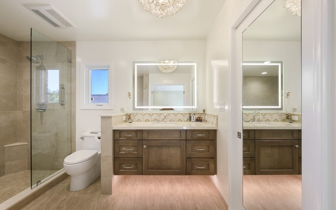 Huntington Beach Master Bathroom Remodel – Wiederrich